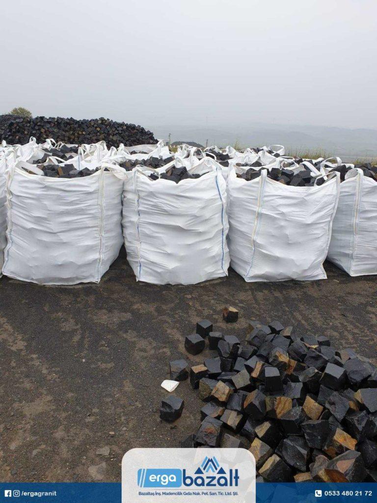 Bazalt küp taş Big Bag