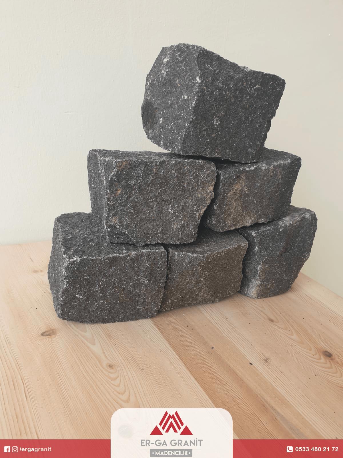 Bazalt küp taş 8 x 10