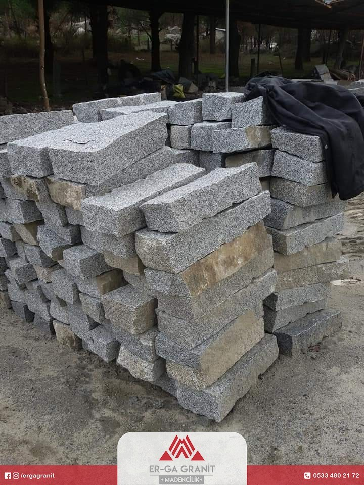 doğal granit bordür taşı