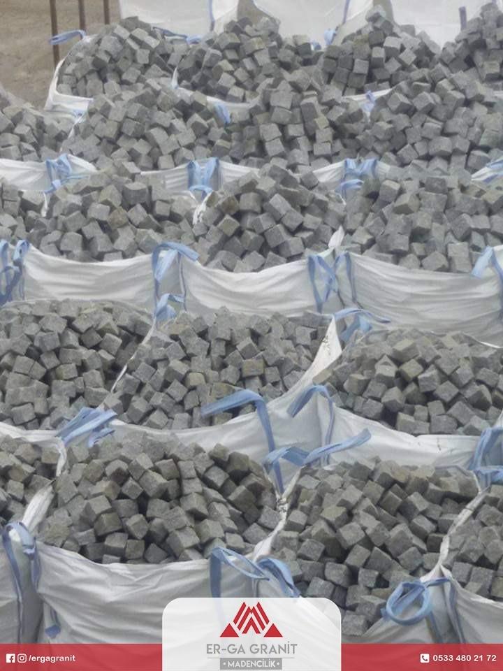Ezine granit küp taş ihracatı