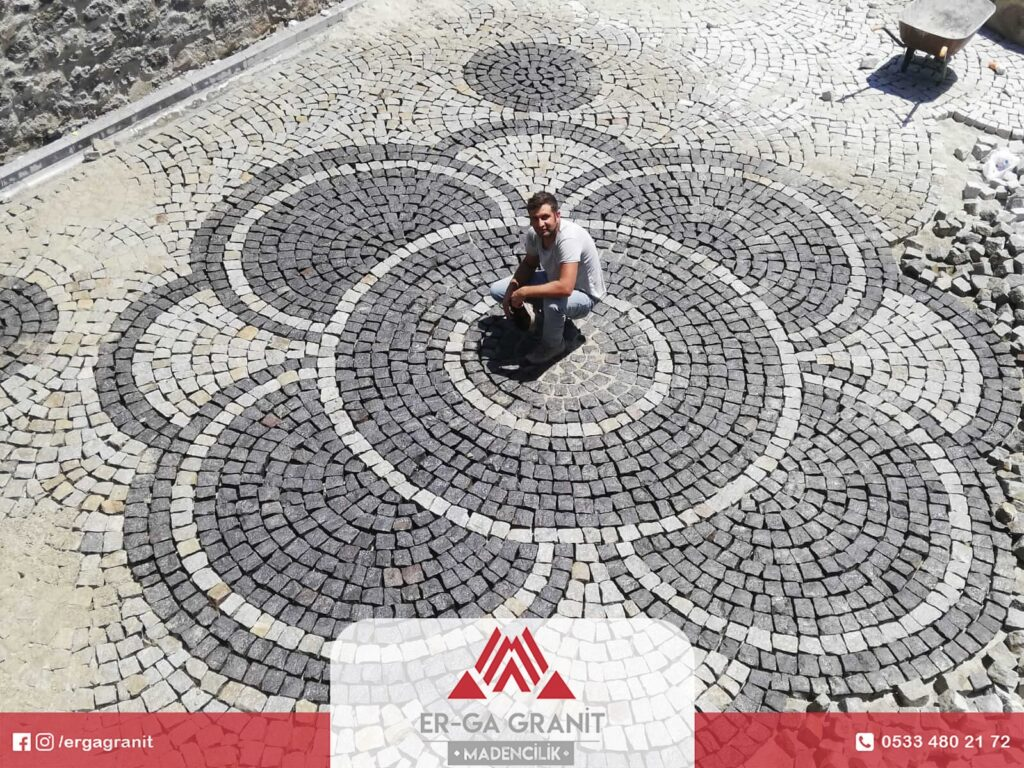 Erzurum Bazalt küp taş