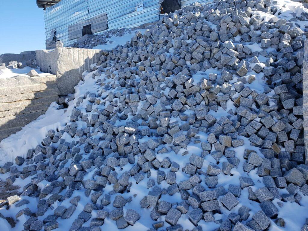 Doğal taş yaylak graniti