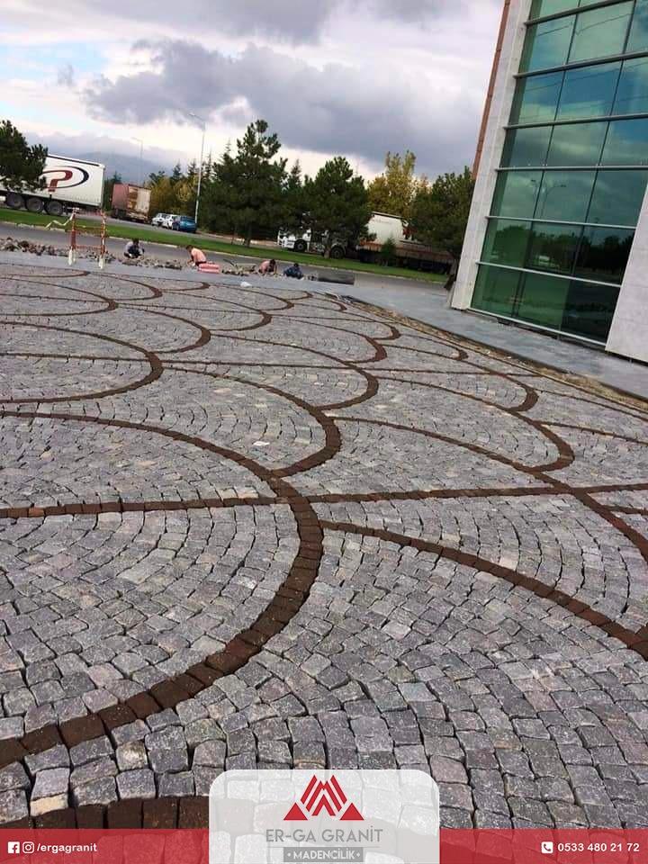 Samsun Granit parke taşı