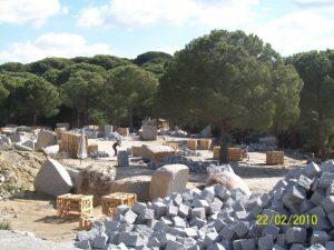 Bodrum Granit Parke Taşı