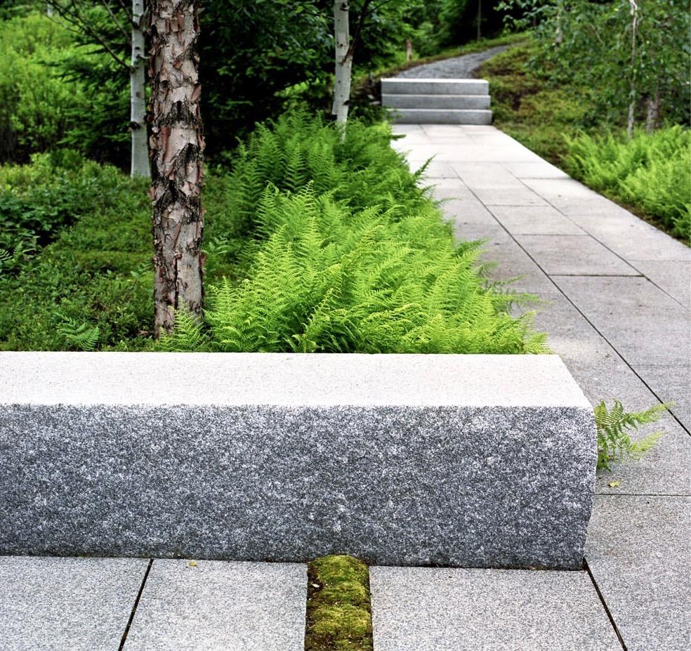 Peyzaj Granit kullanımı