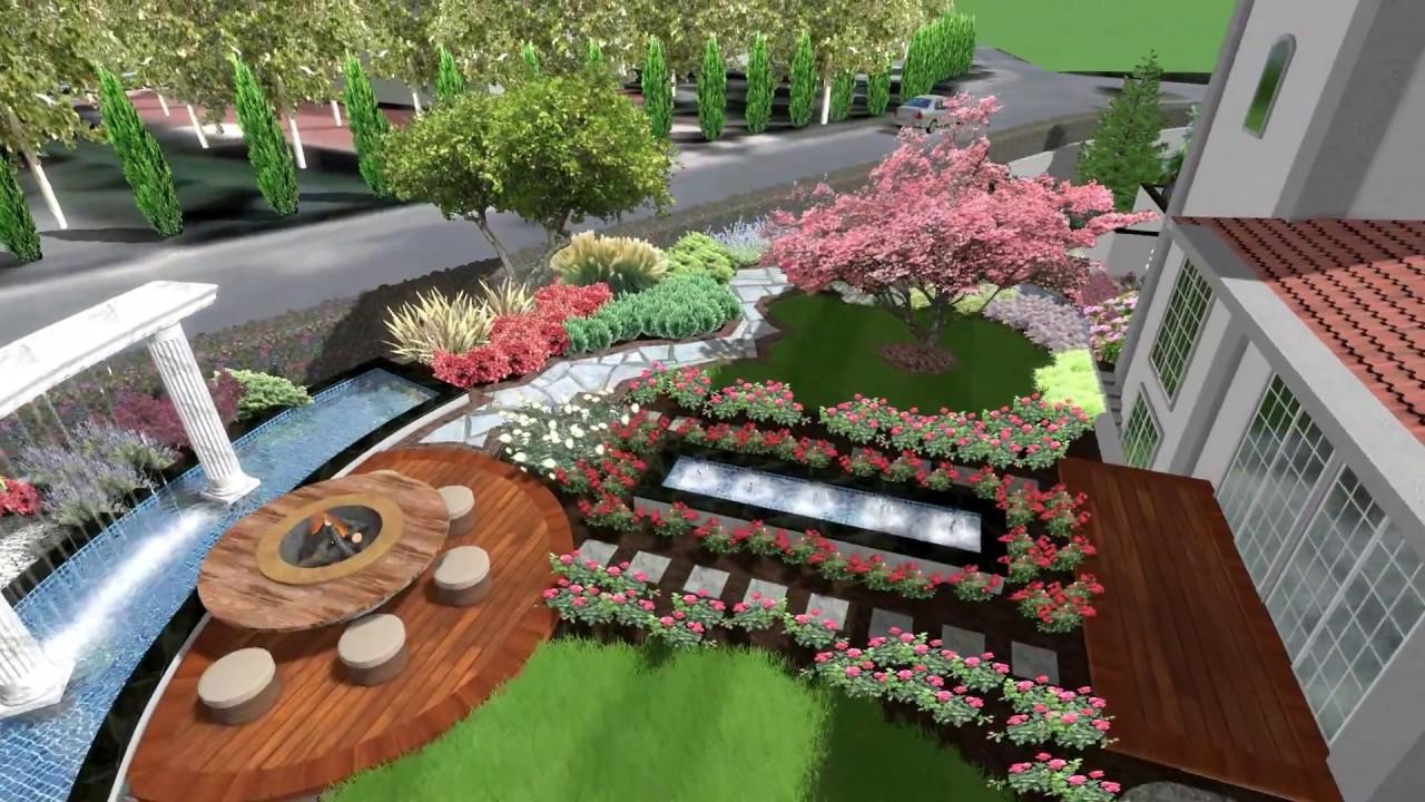 Villa Bahçe Modelleri