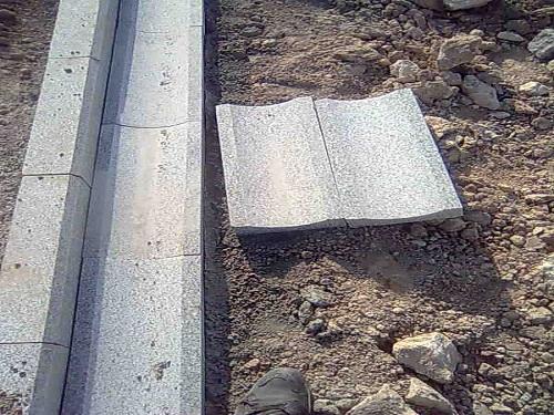 Oluk Granit Taşı Uygulama