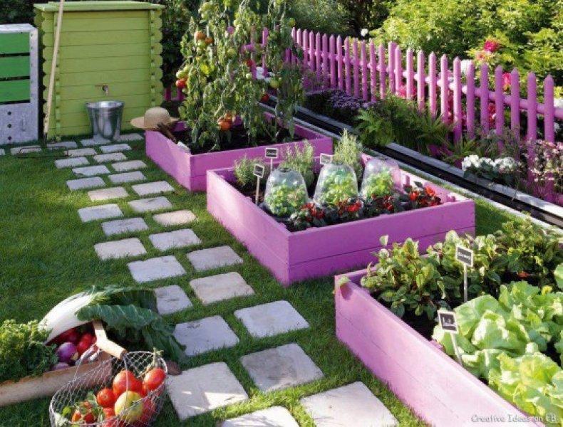 Küçük Bahçe Dekorasyon İçin  Önerileri